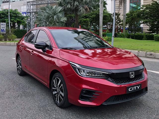 Honda City 2021 hé lộ hình ảnh nội thất, nhiều trang bị tiện nghi