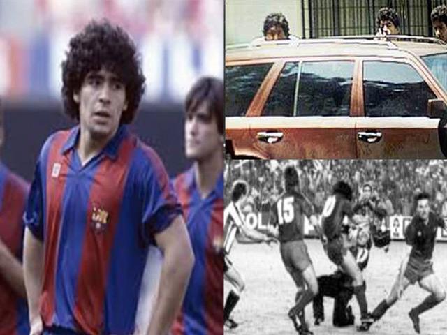 Hai khoảnh khắc điên rồ nhất của Maradona: Lên gối đối thủ, bắn phóng viên