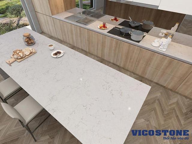 """Đá Quartz Vicostone – Bí quyết tạo nên không gian bếp """"vạn người mê"""""""