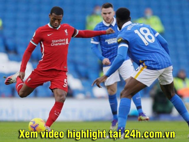 Trực tiếp bóng đá Brighton - Liverpool: Bảo toàn 1 điểm quý giá (Hết giờ)