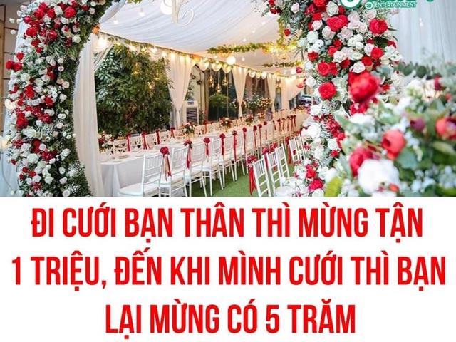 Mừng cưới ít hơn 1 nửa, bạn thân 14 năm bị cô dâu nhắn tin hỏi tội