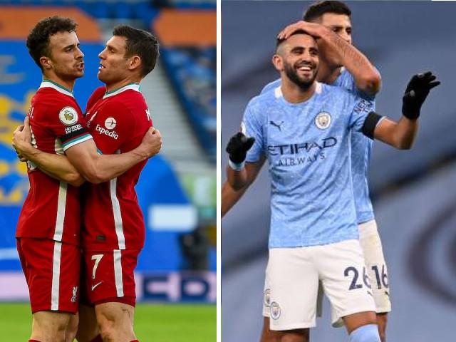 """Gay cấn bảng xếp hạng Ngoại hạng Anh: Man City áp sát top 4, Liverpool run rẩy """"lên đỉnh"""""""