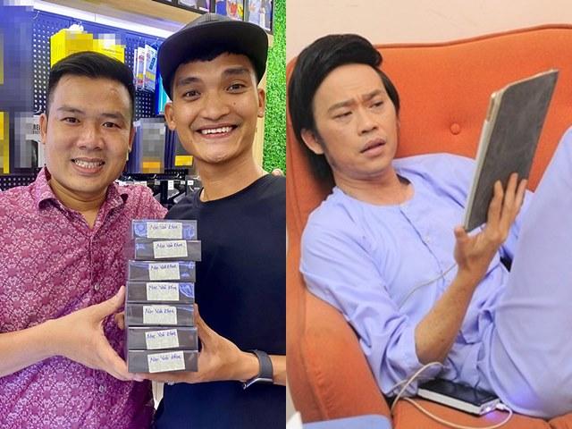 """Mạc Văn Khoa chi 200 triệu mua 7 chiếc iPhone 12,  Hoài Linh liền nói 1 câu """"gây sốc"""""""