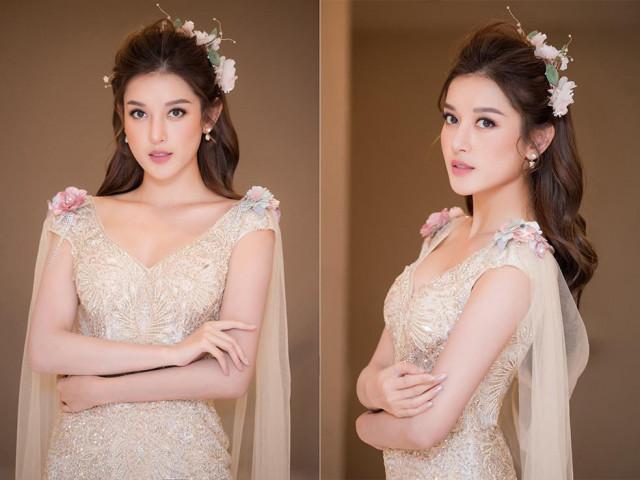 Tái xuất sàn catwalk, Á hậu Huyền My gây thương nhớ với váy công chúa gợi cảm