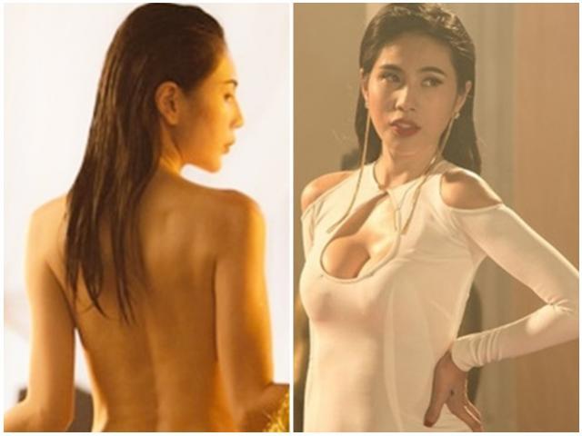 Thủy Tiên khỏa thân 100% diễn cảnh nóng, mặc bikini sexy catwalk khiến trai đẹp mê mẩn