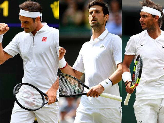"""Federer, Nadal, Djokovic được ví như """"Quái vật"""" tennis, ai giỏi nhất?"""