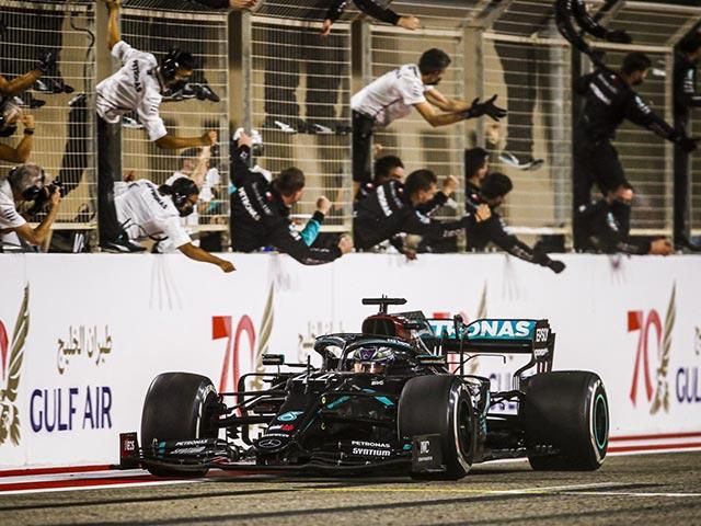 Đua xe F1, Bahrain GP: Mercedes vượt Williams, kịch tính cuộc đua nhóm giữa
