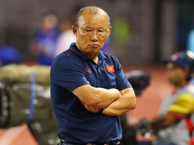 """HLV Park Hang Seo nhận tin """"sét đánh"""" trước thềm vòng loại World Cup"""