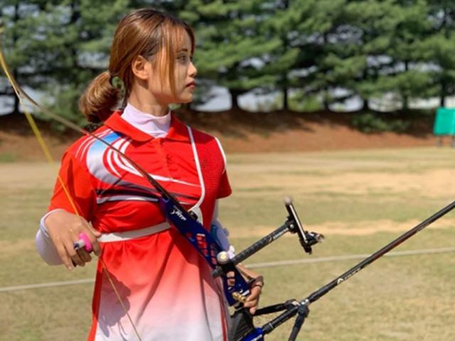 Hot girl bắn cung Ánh Nguyệt nói gì về vé dự Olympic thời dịch Covid 19?