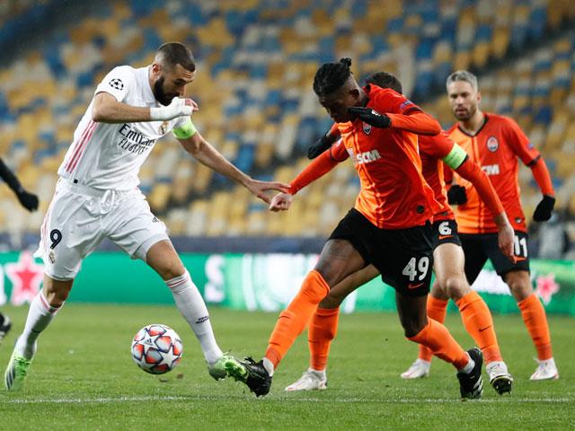 """Shakhtar Donetsk - Real Madrid: Bất lực toàn tập, đòn """"hồi mã thương"""" choáng váng (Kết quả Cúp C1)"""