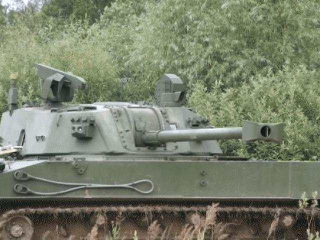 Xem sức mạnh của pháo tự hành đổ bộ đường không Lotos