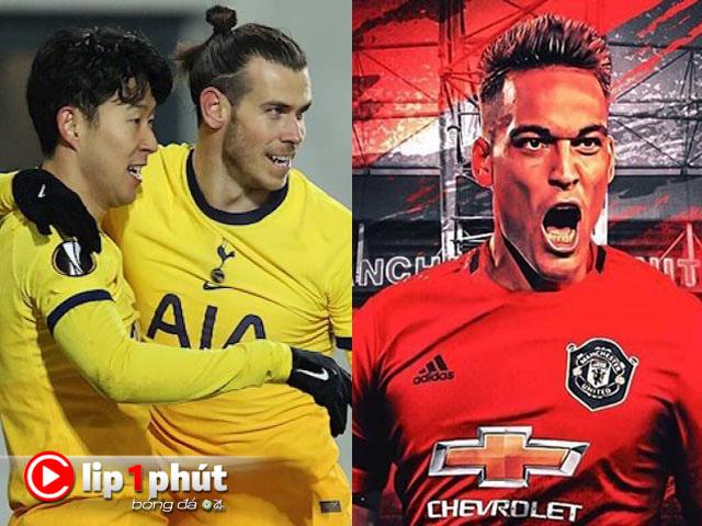 Bale ghi 200 bàn có giúp Tottenham vô địch NHA, MU săn sao đá cặp Lukaku (Clip 1 phút Bóng đá 24H)