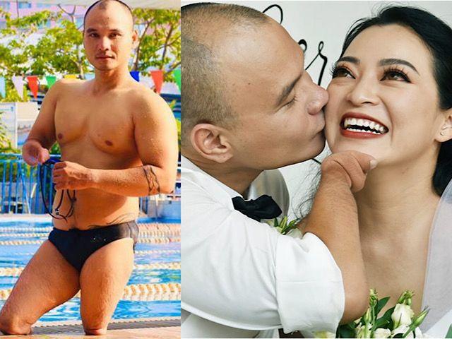 """Ốc Thanh Vân cảm động rớt nước mắt trước tình yêu của """"kình ngư không chân"""" dành cho vợ"""