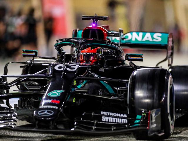 """Đua xe F1, chạy thử Sakhir GP: """"Siêu dự bị"""" George Russell khởi đầu hoàn hảo"""