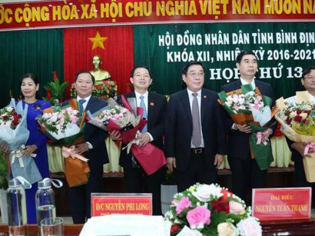 Bình Định có tân Chủ tịch HĐND và Chủ tịch UBND tỉnh