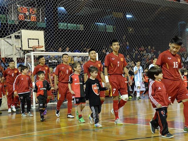 Futsal Việt Nam và mục tiêu chinh phục World Cup