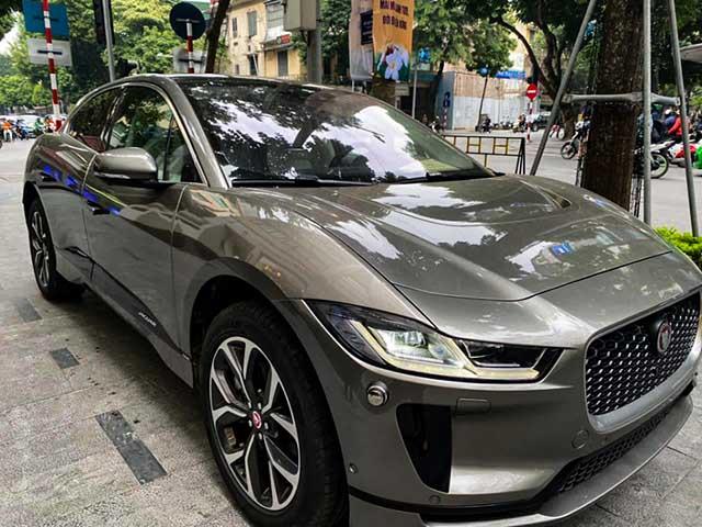 Xe điện Jaguar I-Pace đầu tiên xuất hiện tại Việt Nam