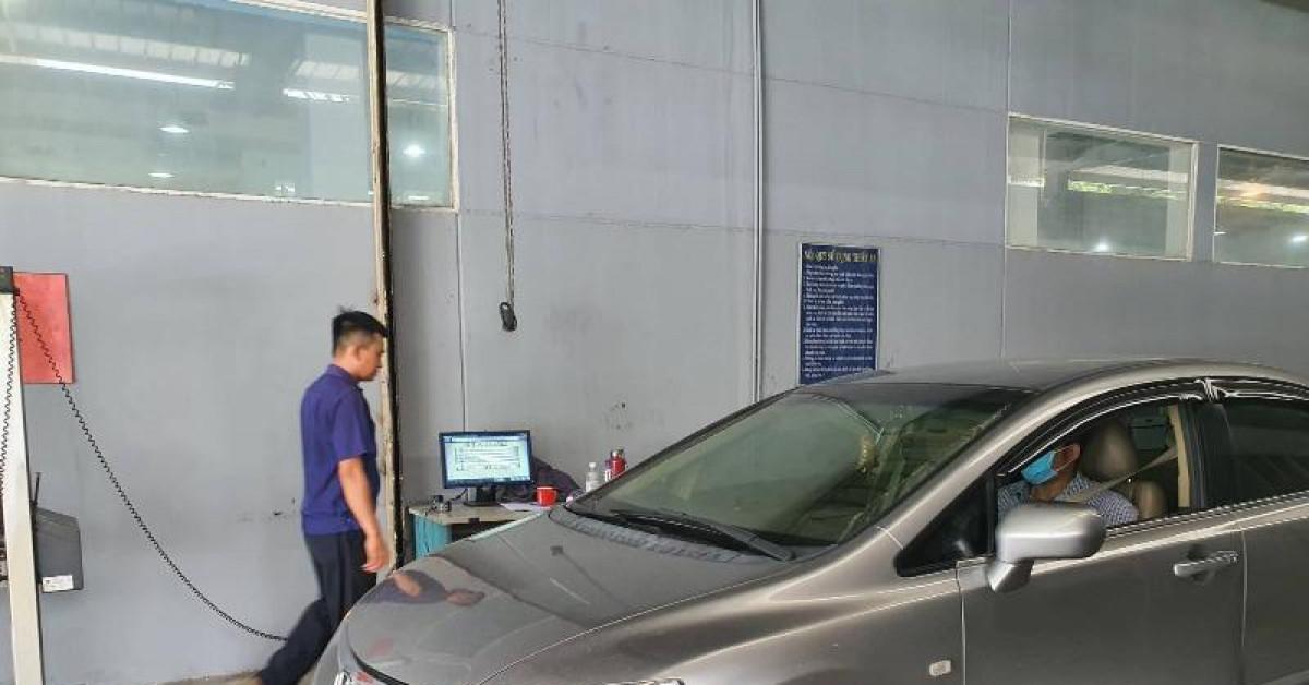 Ô tô quá hạn đăng kiểm có thể bị xử phạt 16 triệu đồng