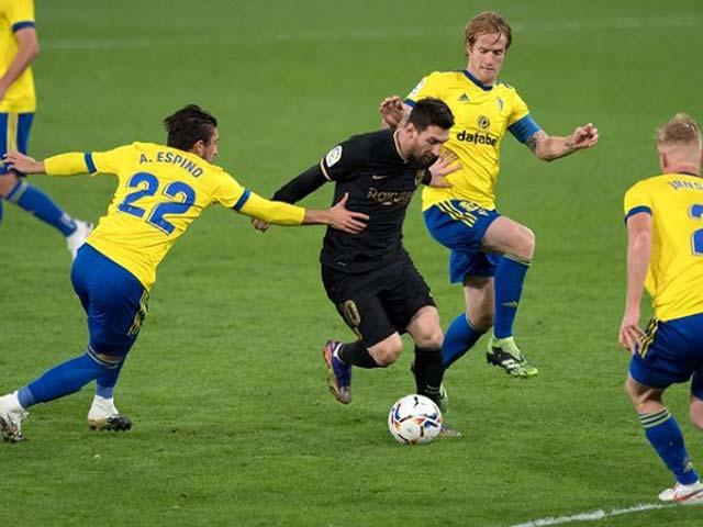 Messi tệ hại chưa từng thấy ở Barca: Đá như đùa, 3 phút mất bóng một lần