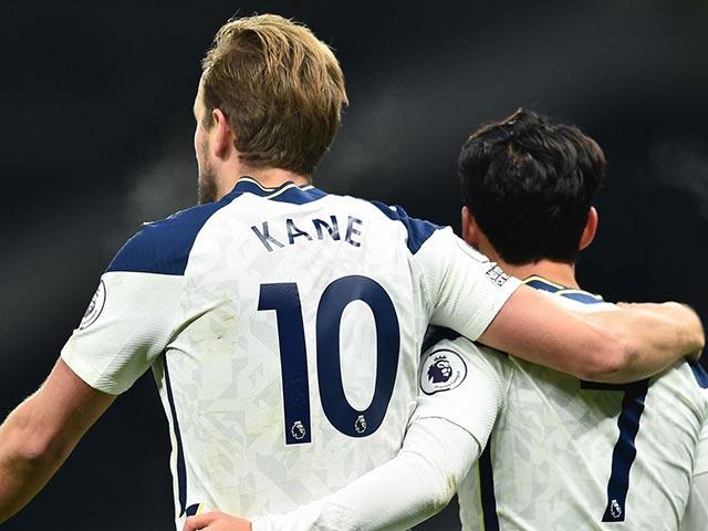 Cặp Kane & Son Heung Min nguy hiểm số 2 Ngoại hạng Anh, mấy bàn nữa để thành số 1?