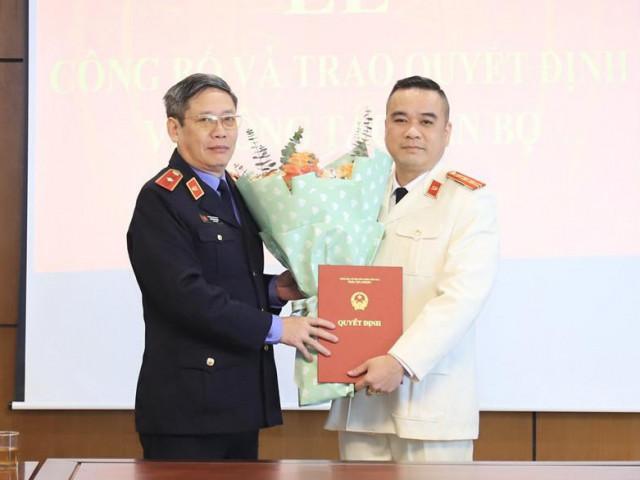 Viện trưởng VKSND Tối cao bổ nhiệm lãnh đạo cấp phòng thuộc Cục 2