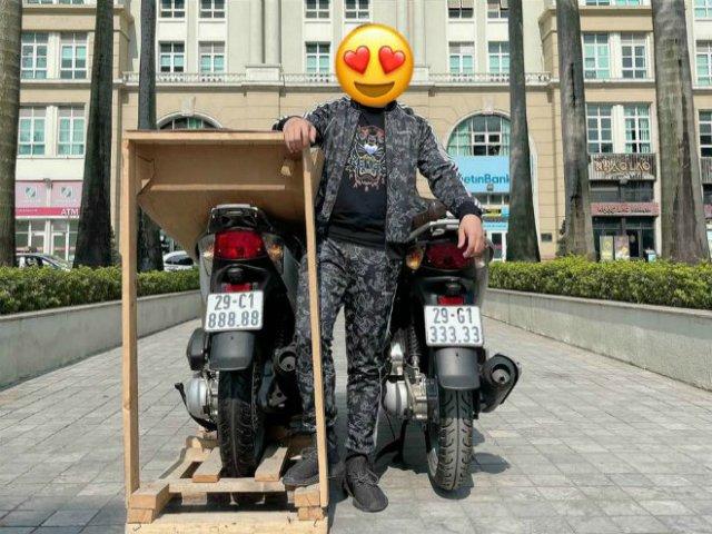 SỐC: Honda SH biển ngũ quý 8 ở Hà Nội vừa sang tay giá 900 triệu đồng