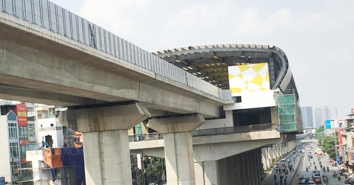 Gia hạn thời gian hoàn thành đường sắt Cát Linh - Hà Đông đến 3/2021