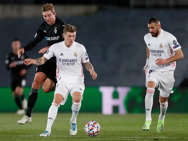 Real Madrid - Monchengladbach: Điểm nhấn không chiến, cú đúp ngôi sao (Kết quả Cúp C1)