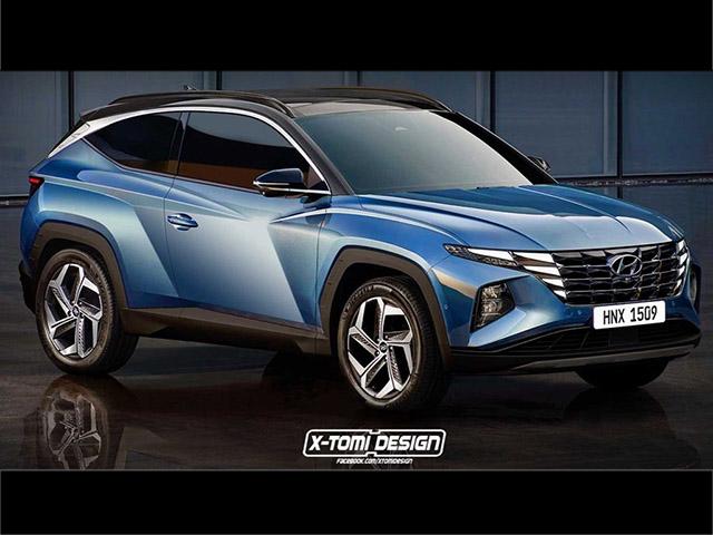 Xem trước thiết kế của Hyundai Tucson phiên bản 3 cửa