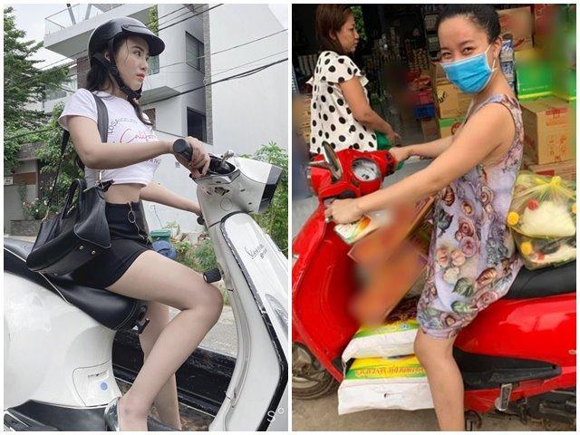 """""""Hoa hậu ăn chơi"""", Linh Miu đi xe máy vẫn chưa hot bằng vợ """"thánh livestream"""" Lê Dương Bảo Lâm"""
