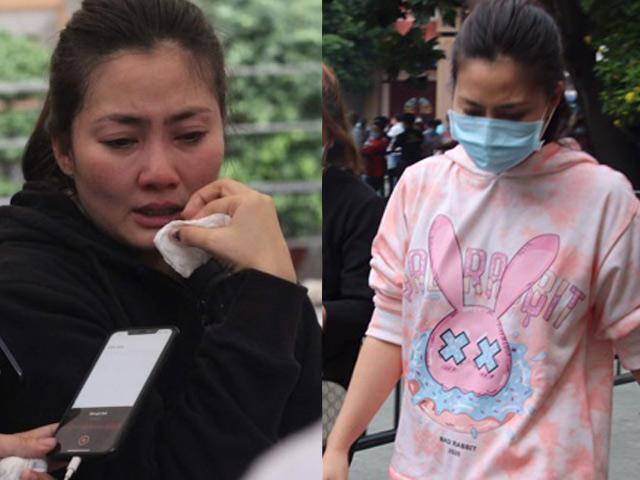 Mặc trang phục hồng tới lễ tang NS Chí Tài, nữ diễn viên Ngọc Lan lên tiếng