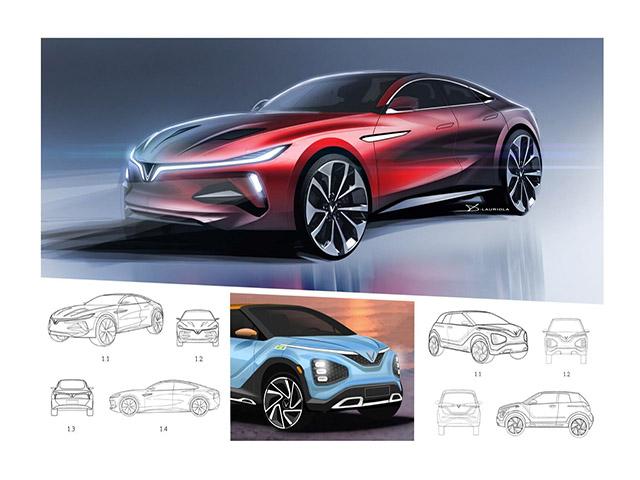 VinFast vừa đăng ký bảo hộ kiểu dáng công nghiệp cho 11 mẫu ô tô mới