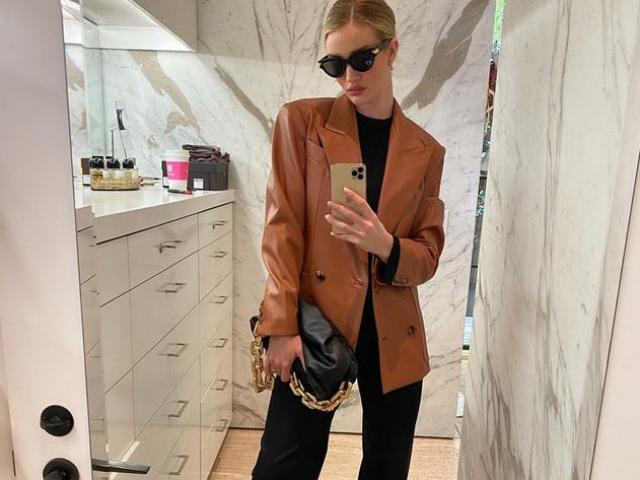 Gợi ý mặc blazer sang chảnh đến từ các chân dài hàng đầu thế giới