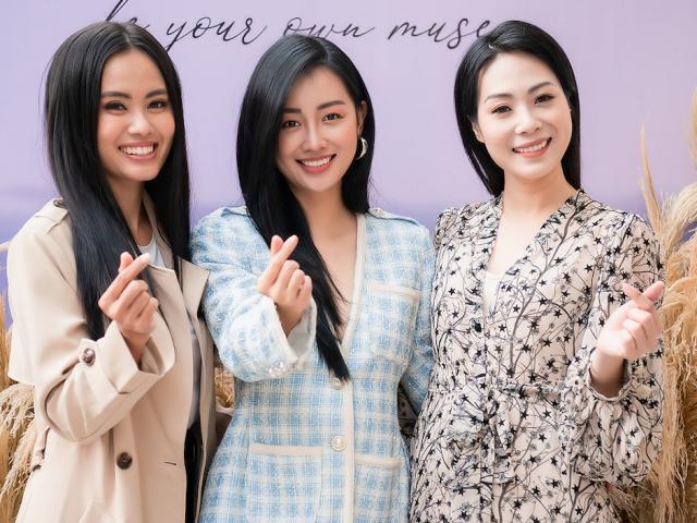 Dàn người đẹp VTV cá tính, quyến rũ trong thiết kế của MC Quỳnh Chi