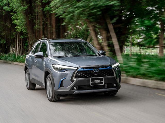 Bảng giá xe Toyota Corolla Cross lăn bánh tháng 12/2020