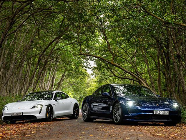 Porsche Taycan: biểu tượng dũng mãnh của dòng xe thể thao thuần điện
