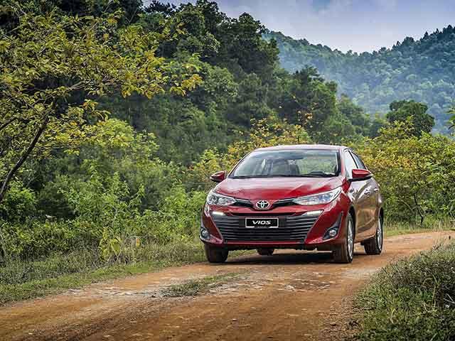 """Doanh số nhóm sedan hạng B tháng 11/2020, Toyota Vios đạt thành tích """"khủng"""""""