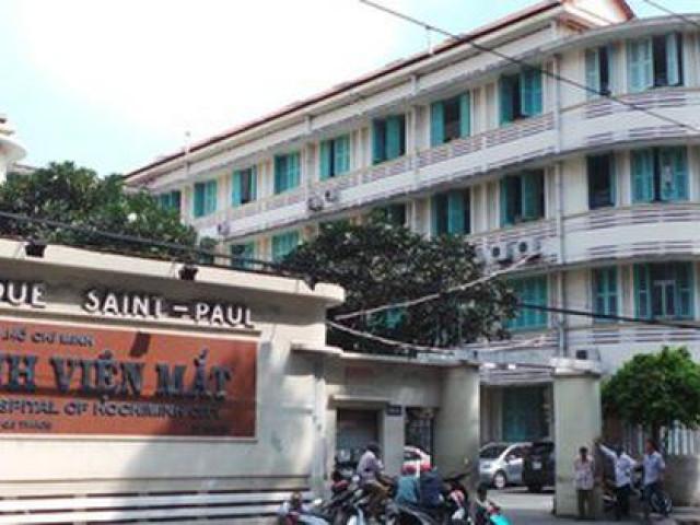 UBND TP.HCM đình chỉ 2 lãnh đạo Bệnh viện Mắt TP để phục vụ điều tra của Bộ Công an