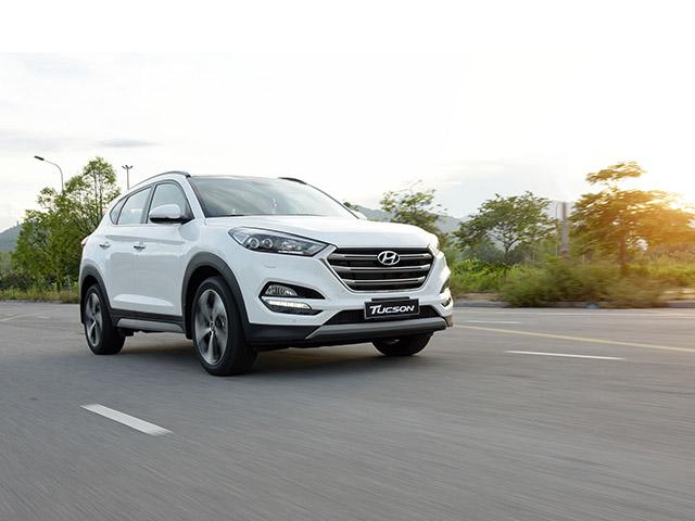 Giá xe Hyundai Tucson lăn bánh tháng 12/2020, giảm 50% phí trước bạ