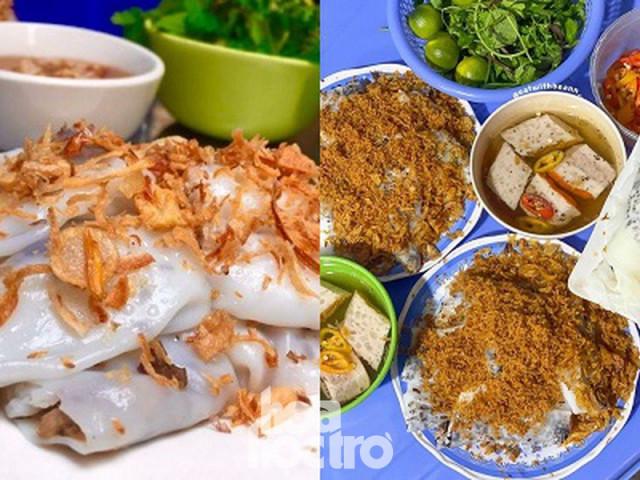 """Hà Nội ăn gì ngày rét đậm: Ủ ấm chiếc bụng đói với đĩa bánh cuốn tráng liền cực """"cuốn"""""""