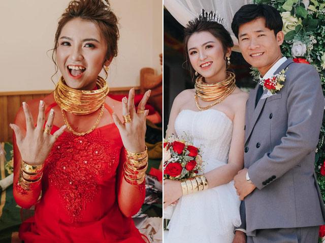 Cô dâu được trao của hồi môn 10 cây vàng, 2 sổ đỏ, 1 ô tô, chú rể nói điều bất ngờ