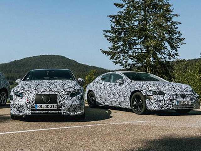 Điểm qua những chiếc xe điện mới của Mercedes-Benz