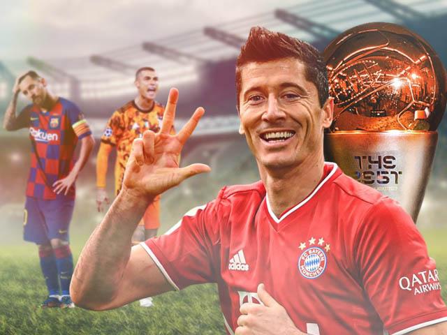 Lễ trao giải FIFA The Best 2020: Lewandowski đánh bại Ronaldo - Messi, lên đỉnh thế giới