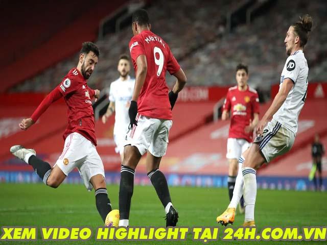 Video MU - Leeds United: Đại tiệc 8 bàn, đánh chiếm top 3