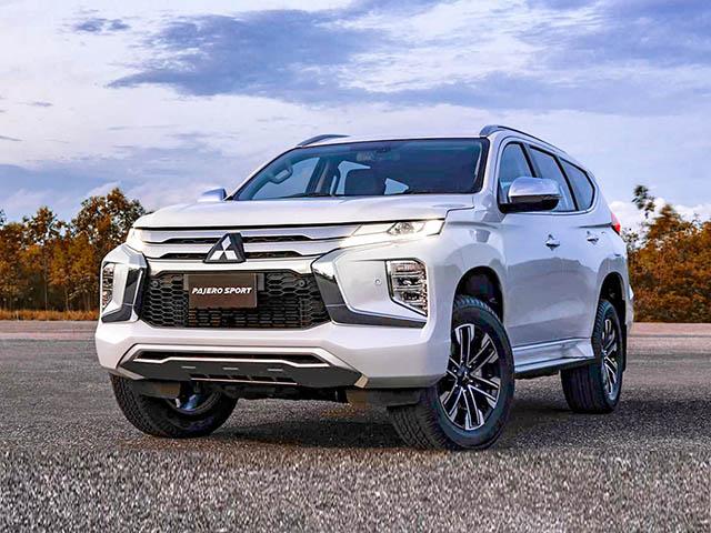Bảng giá xe Mitsubishi Pajero Sport lăn bánh tháng 12/2020