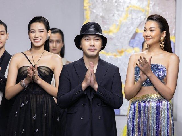 Top 3 Hoa hậu Việt Nam mở màn show đầu tiên tại Việt Nam của NTK Trần Hùng