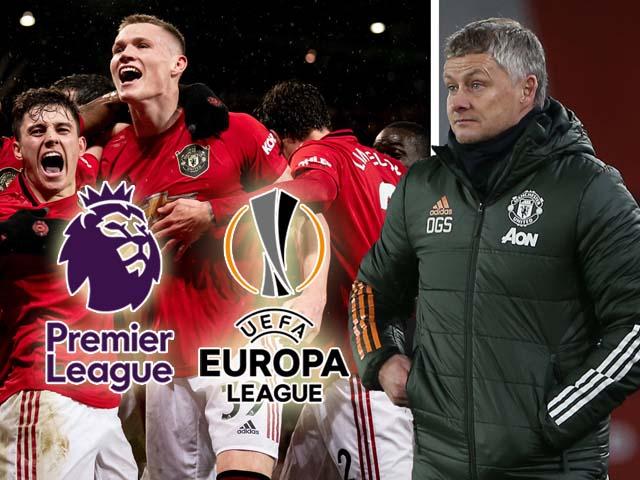 MU có buông cúp châu Âu, đua vô địch Ngoại hạng Anh với Liverpool? (Clip 1 phút Bóng đá 24h)