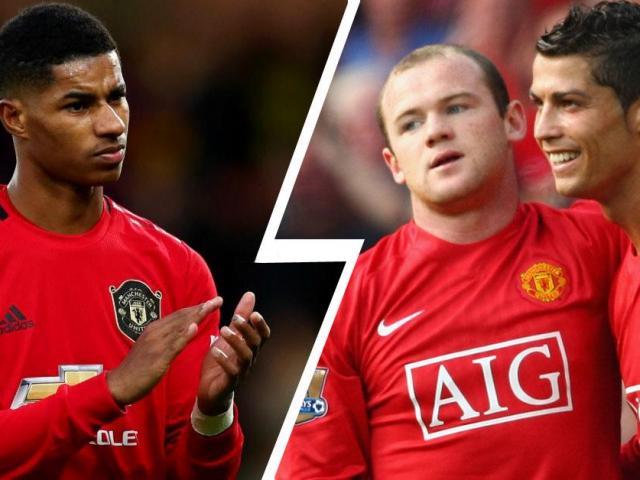 """MU hụt thắng: Rashford vẫn """"nối gót vàng"""" Rooney và Ronaldo, Cavani lập kỷ lục"""