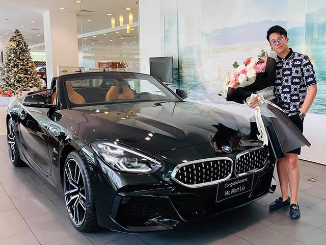 Bạn trai Hoa hậu Hương Giang tậu BMW Z4 2020 giá gần 3 tỷ đồng