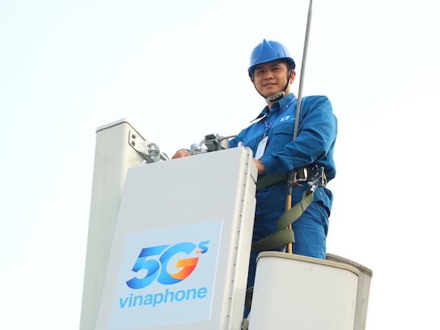 VinaPhone and Viettel broadcast 5G in the future Thu Duc city